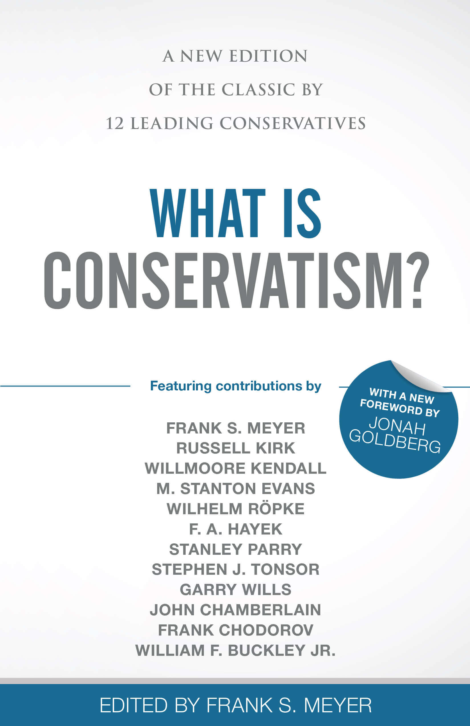 What Is Conservatism book