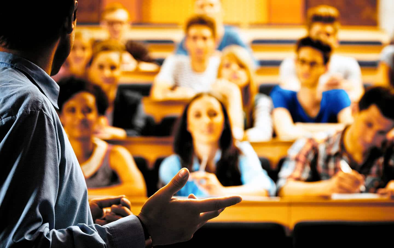 Teaching a class
