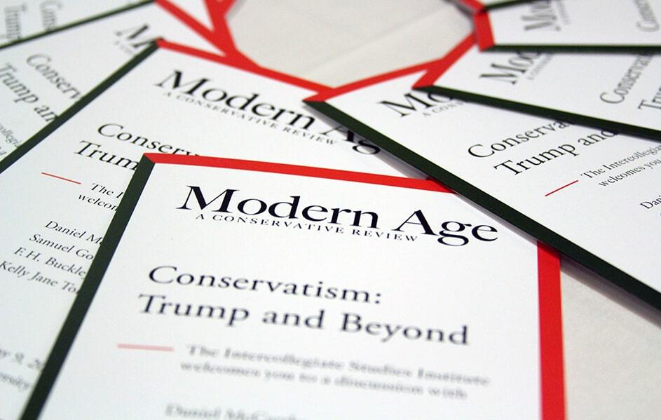 Modern Age - Intercollegiate Studies Institute: Think  Live