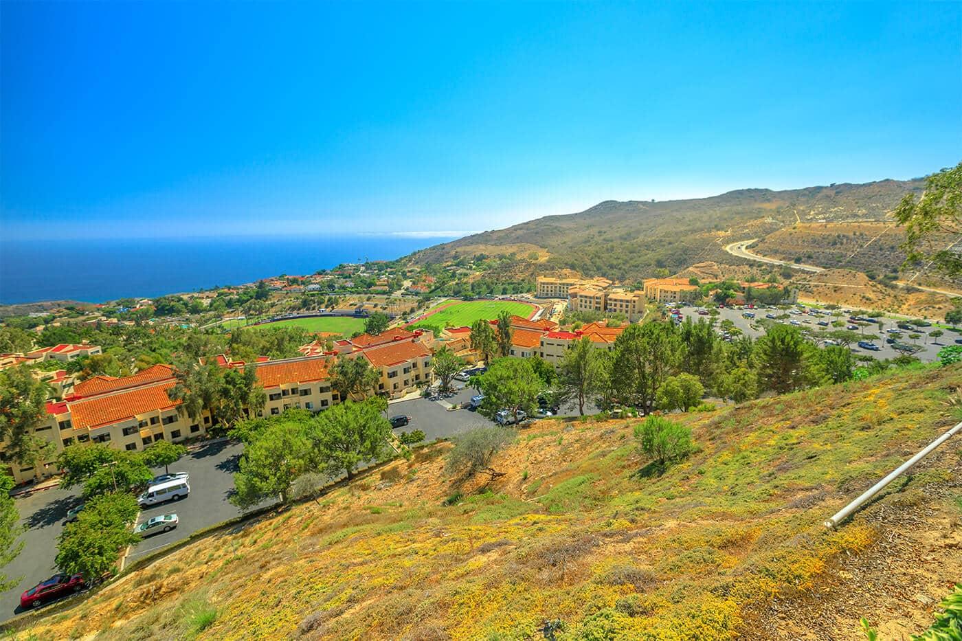 Pepperdine University in Malibu CA