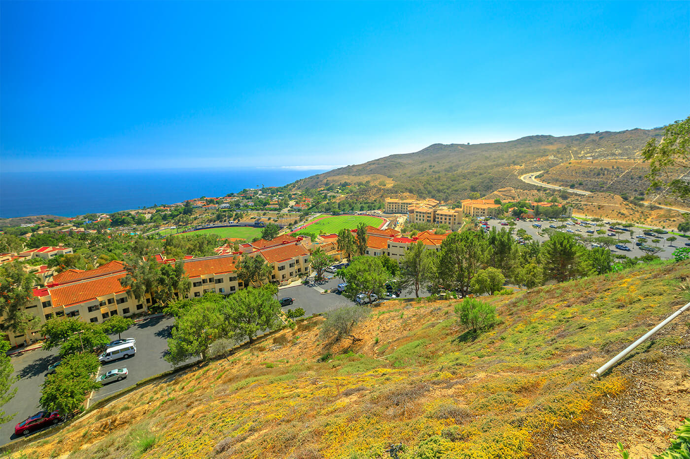 Pepperdine University in Malibu CA